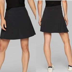 Athleta Black Everyday Active Skort Skirt Shorts